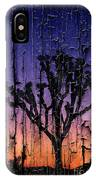 Joshua Tree With Special Effects IPhone Case