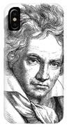 Ludwig Van Beethoven IPhone Case