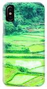 Rice Fields Scenery IPhone Case