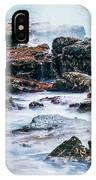 Rocks And Waves At Point Cartwright  IPhone Case