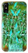 Sukkot- Prayer In The Sukkah IPhone Case