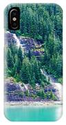 Waterfall In Tracy Arm Fjord, Alaska IPhone Case