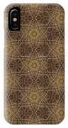Arabesque 034 IPhone Case