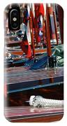 Classic Wooden Runabouts IPhone Case