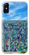 8276- Little Havana Mural IPhone Case