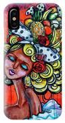 8334-1- Little Havana Mural IPhone Case