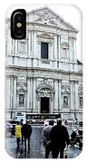 winter in Rome IPhone Case