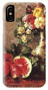 bs- George Henry Hall- Still Life George Henry Hall IPhone Case