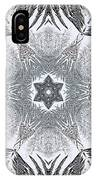 Fern Frost Mandala IPhone Case