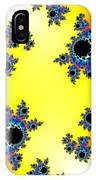 Fractal Floral Pattern IPhone Case