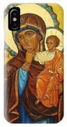 Mary Saint Christian Art IPhone Case