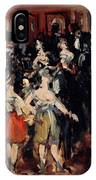Masked Ball At The Opera IPhone Case