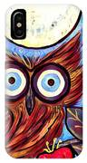 Owl Midnight IPhone Case
