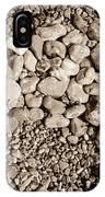 Pebbles 1 IPhone Case