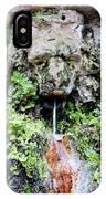 Public Fountain In Palma Majorca Spain IPhone Case