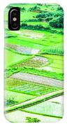 Rice Fields Scenery IPhone Case