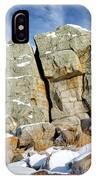 The Big Rock IPhone Case