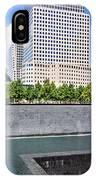 911 Memorial - Panorama IPhone Case