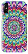 Psycho Hypno Floral Pattern IPhone Case