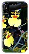 A Ballet Of Tiny Orchids IPhone Case