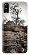A Barren Perch - Sepia IPhone Case