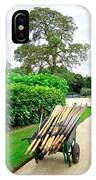A Barrow Load Of Oars IPhone Case