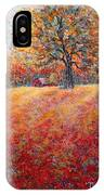 A Beautiful Autumn Day IPhone Case