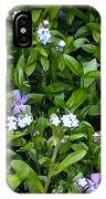 A Bed Of Blooms IPhone Case