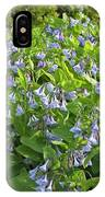 A Bed Of Bluebells IPhone Case