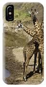 A Bouquet Of Giraffes IPhone Case
