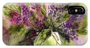 A Bouquet Of May-lilacs IPhone Case