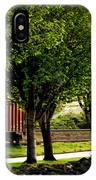 A Boxcar Story IPhone X Case