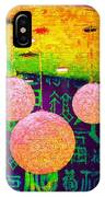 A Brick Wall Of Colors IPhone Case