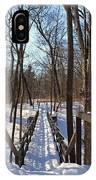 A Bridge At Wildwood IPhone Case