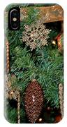 A Bronze Christmas IPhone Case