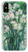 A Bunch Of Orchid Paintings IPhone Case