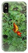 A Butterfly In The Garden IPhone Case