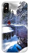 A Calm Winter Scene IPhone Case
