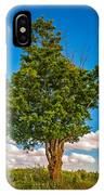 A Canadian Tree IPhone Case