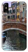 A Canal In Venice IPhone Case