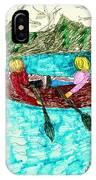 A Canoe Ride IPhone Case