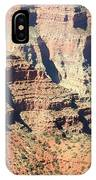 A Canyon Scene IPhone Case