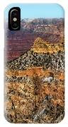A Canyon Winter IPhone Case