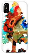 A Certain Kind Of Freedom - Guitar Motorcycle Art Print IPhone Case