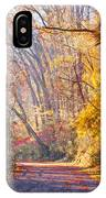 A Change Of Seasons On Forbidden Drive IPhone Case