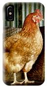 A Chicken Named Rembrandt IPhone Case