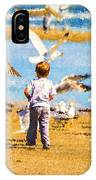 A Child At The Beach Isle Of Palms Sc IPhone Case