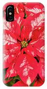 A Christmas Flower IPhone Case