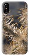 A Closeup Of Tha Natural Defensives IPhone Case