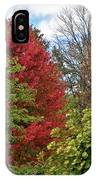 A Collection Of Fall Colours IPhone Case